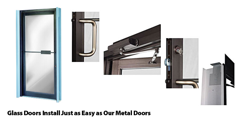Commercial Steel Doors With Windows : Pdl building products walk doors and windows for metal